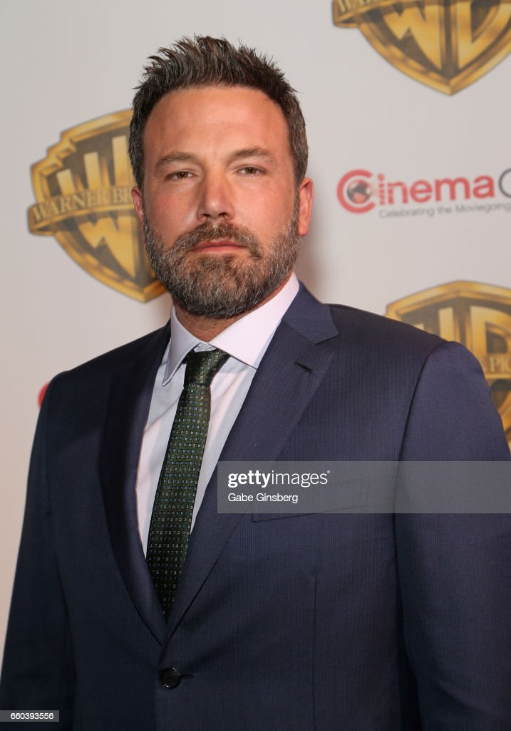Actors Ben Affleck attends the Warner Bros. Pictures presentation during CinemaCon at The Colosseum at Caesars Palace on March 29, 2017 in Las Vegas, Nevada.