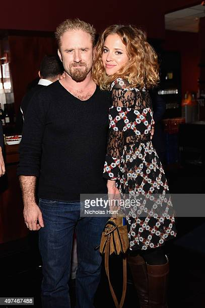Actors Ben Foster and Margarita Levieva attend Urban Arts Partnership at the 15th annual The 24 Hour Plays On Broadway after party at BB King on...
