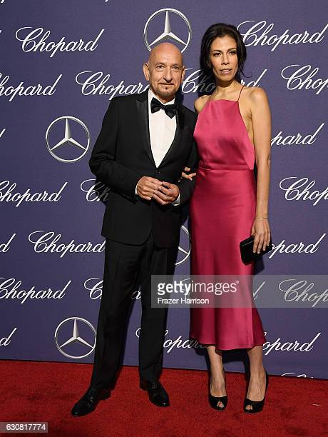 Actors Ben Kingsley and Daniela Lavender attend the 28th Annual Palm Springs International Film Festival Film Awards Gala at the Palm Springs...