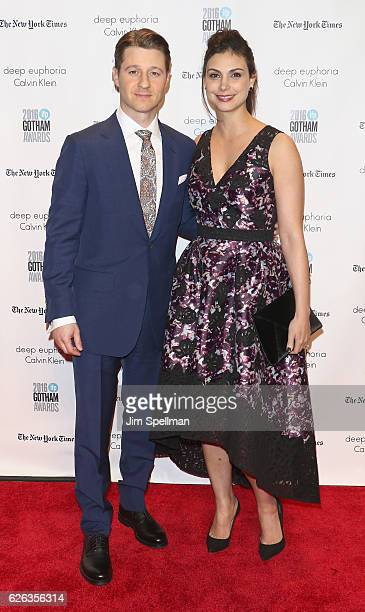 Actors Ben McKenzie and Morena Baccarin attend the 26th Annual Gotham Independent Film Awards at Cipriani Wall Street on November 28 2016 in New York...