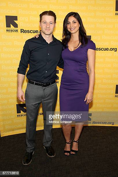 Actors Ben McKenzie and Morena Baccarin attend the 6th Annual GenR Summer Party Hosted By International Rescue Committee at Tribeca Rooftop on July...