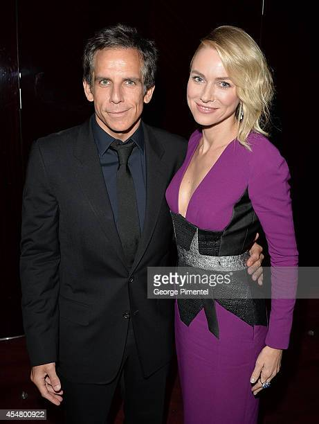 Actors Ben Stiller and Naomi Watts attend the While We're Young premiere during the 2014 Toronto International Film Festival at Princess of Wales...