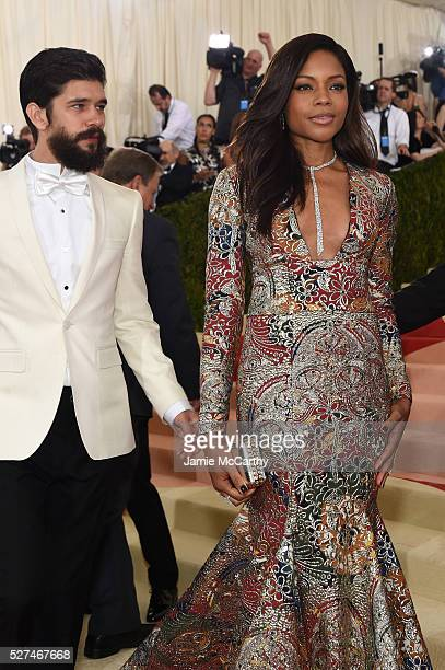 Actors Ben Whishaw and Naomie Harris attend the 'Manus x Machina Fashion In An Age Of Technology' Costume Institute Gala at Metropolitan Museum of...