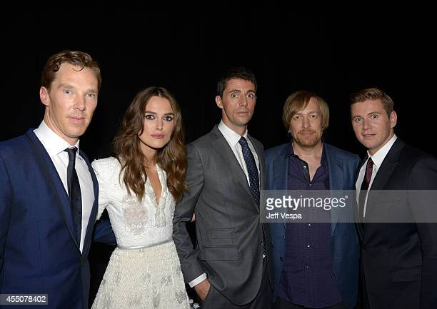 Actors Benedict Cumberbatch Keira Knightley Matthew Goode director Morten Tyldum and actor Allen Leech attend the 'The Imitation Game' premiere...