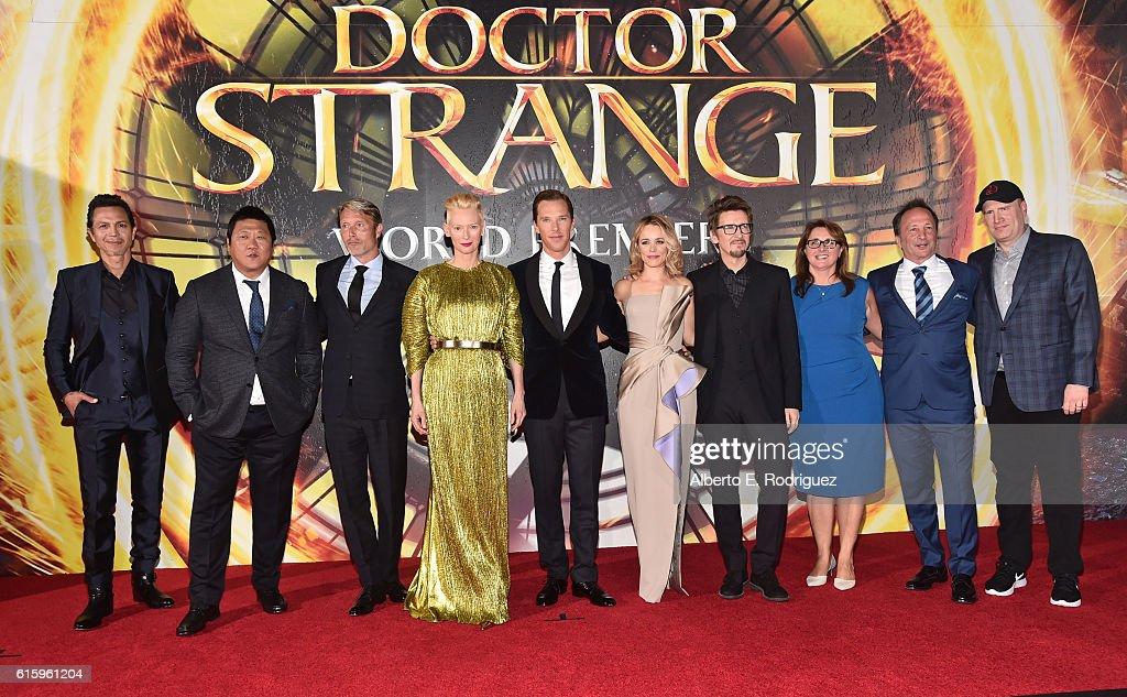 "The Los Angeles World Premiere Of Marvel Studios' ""Doctor Strange"""