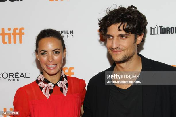 Actors Berenice Bejo and Louis Garrel attend the 'Redoubtable' Premiere held at The Elgin during the 2017 Toronto International Film Festival on...