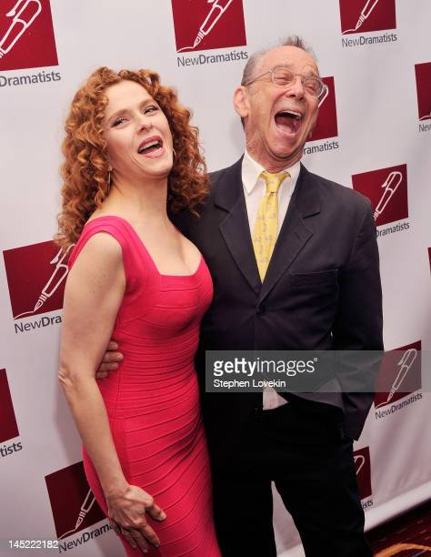 Actors Bernadette Peters and Joel Grey attend the The New Dramatists' 63rd Annual Benefit Luncheon at The New York Marriott Marquis on May 24 2012 in...
