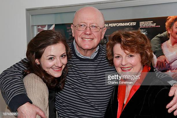 Actors Beth Cooke Niall Buggy and Brenda Blethyn attend the opening night of Haunted at 59E59 Theaters on December 8 2010 in New York City