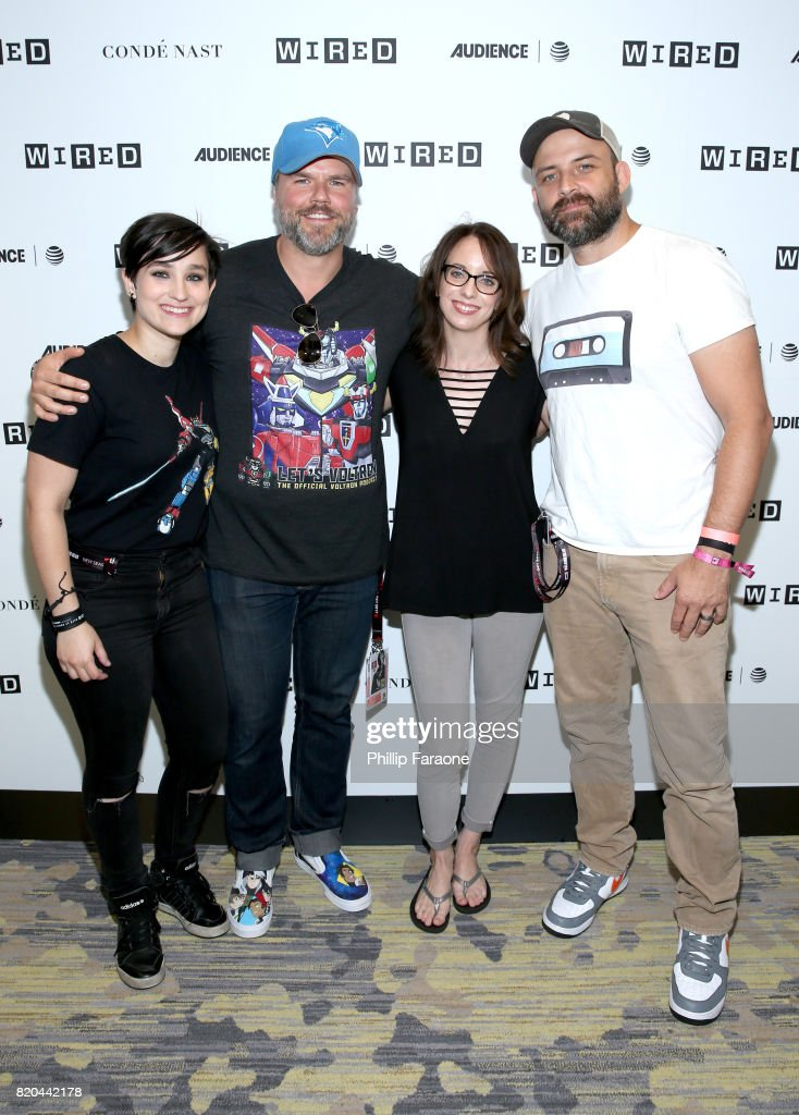 2017 WIRED Cafe At Comic Con, Presented By AT&T Audience Network - Day 2 : News Photo