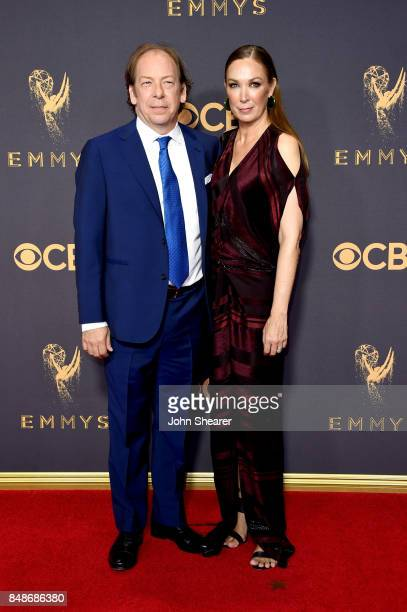 Actors Bill Camp and Elizabeth Marvel attend the 69th Annual Primetime Emmy Awards at Microsoft Theater on September 17 2017 in Los Angeles California