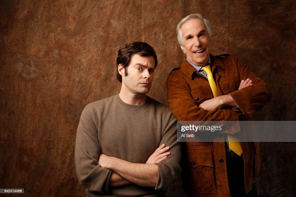 Bill Hader and Henry Winkler, Los Angeles Times, March 24, 2018