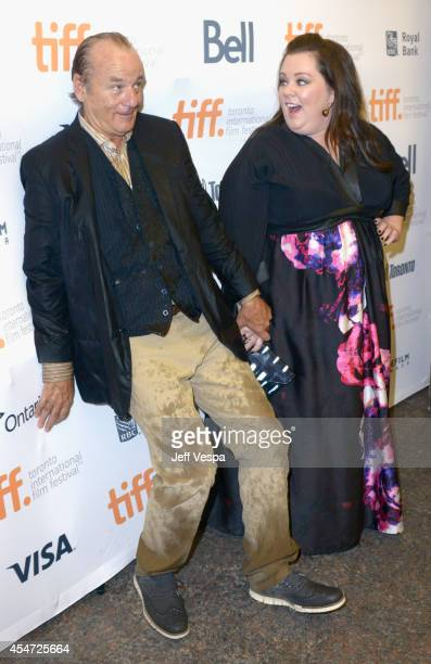 Actors Bill Murray and Melissa McCarthy attend the St Vincent premiere during the 2014 Toronto International Film Festival at Princess of Wales...