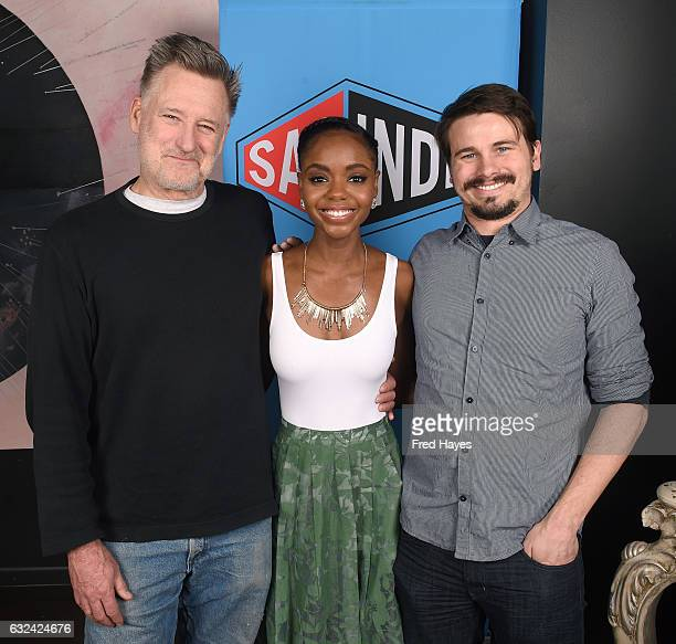 Actors Bill Pullman Ashleigh Murray and Jason Ritter attend SAGindie Actors Only Brunch on January 22 2017 in Park City Utah