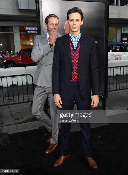 Actors Bill Skarsgard and Alexander Skarsgard attends the premiere of 'It' at TCL Chinese Theatre on September 5 2017 in Hollywood California