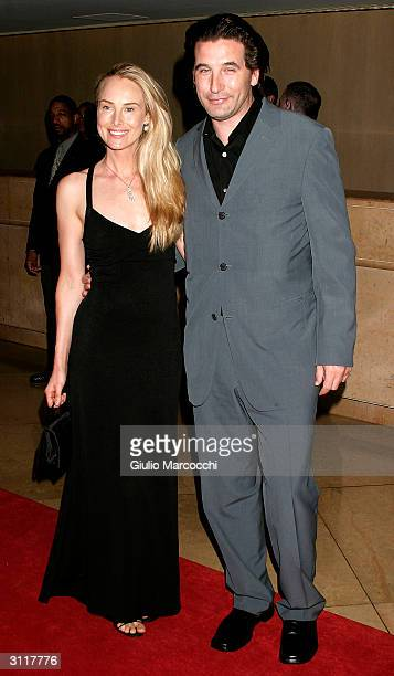 Actors Billy Baldwin and wife Chynna Phillips attend The 18th Annual Genesis Awards on March 20 2004 at the Beverly Hilton Hotel in Beverly Hills...