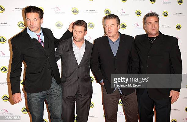 Actors Billy Baldwin Stephen Baldwin Alec Baldwin and Daniel Baldwin attend the Lotus Cars Launch event on November 12 2010 in Los Angeles California