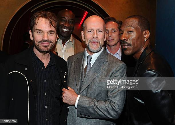 Actors Billy Bob Thorton Michael Clarke Duncan Bruce Willis William Fichtner and Eddie Murphy attend the 'Prince of Persia The Sands of Time' Los...