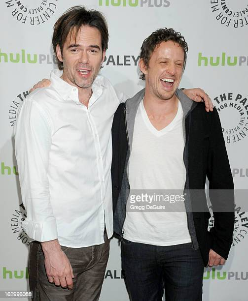 Actors Billy Burke and David Lyons arrive at the 30th Annual PaleyFest: The William S. Paley Television Festival featuring 'Revolution' at Saban...
