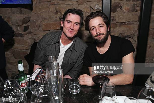 Actors Billy Crudup and Michael Angarano attend ChefDance 2015 presented by Victory Ranch and sponsored by Merrill Lynch, Freixenet and Anchor...