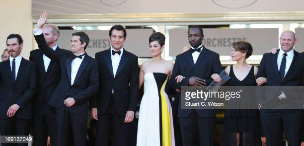 Actors Billy Crudup and Noah Emmerich director Guillaume Canet actors Clive Owen Marion Cotillard Jamie Hector Lily Taylor and Domenick Lombardozzi...