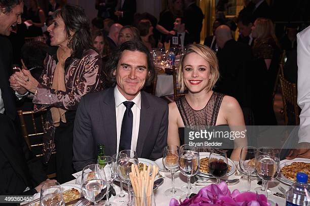 Actors Billy Crudup and Rachel McAdams attend the 25th IFP Gotham Independent Film Awards cosponsored by FIJI Water on November 30 2015 in New York...