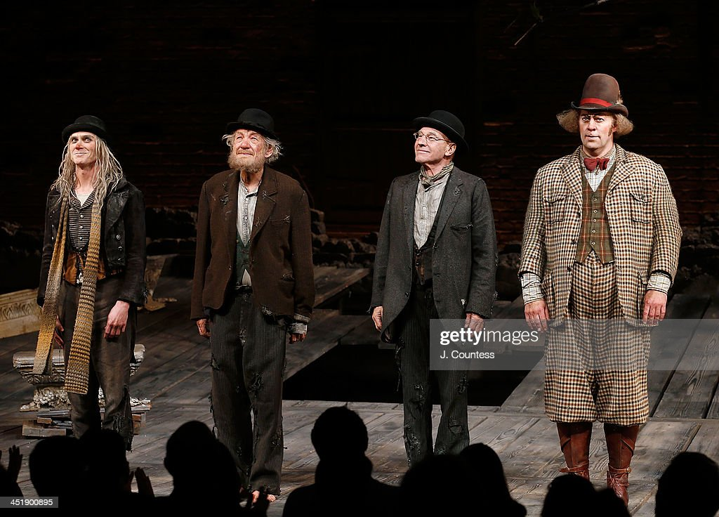 """""""No Man's Land and """"Waiting for Godot"""" Opening Night - Arrivals & Curtain Call : News Photo"""
