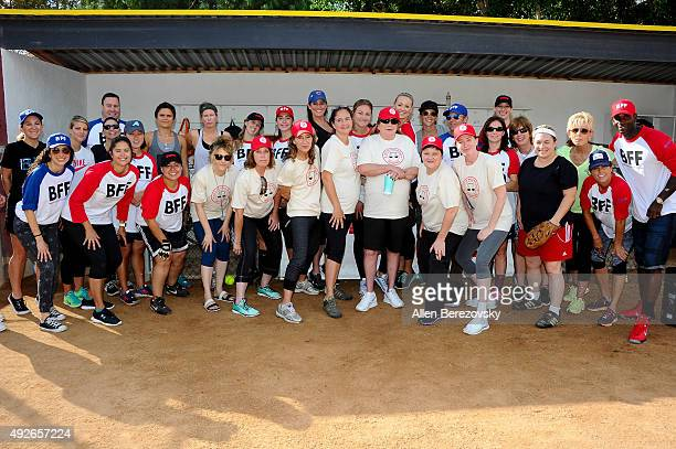 """Actors Bitty Schram, Patti Pelton, Anne Ramsay, Tracy Reiner, Penny Marshal, Megan Cavanagh and Ann Cusack attends """"A League Of Their Own"""" Reunion..."""