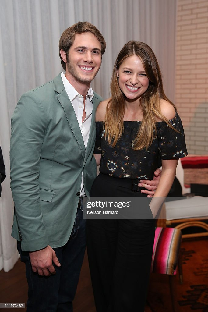 Actors Blake Jenner(L) and Melissa Benoist attend the 'Everybody Wants Some' after party during the 2016 SXSW Music, Film + Interactive Festival on March 11, 2016 in Austin, Texas.