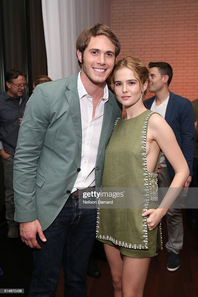 Actors Blake Jenner (L) and Zoey Deutch attend the 'Everybody Wants Some' after party during the 2016 SXSW Music, Film + Interactive Festival on March 11, 2016 in Austin, Texas.