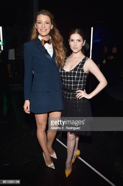 Actors Blake Lively and Anna Kendrick attend CinemaCon 2018 Lionsgate Invites You to An Exclusive Presentation Highlighting Its 2018 Summer and...