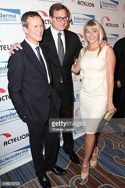 Actors Bob Saget and Jodie Sweetin attend the 'Cool Comedy Hot Cuisine' benefit at the Beverly Wilshire Four Seasons Hotel on June 5 2015 in Beverly...