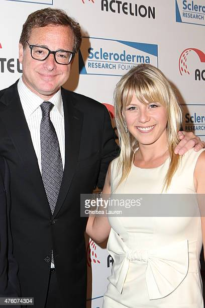 Actors Bob Saget and Jodie Sweetin attend the 'Cool Comedy Hot Cuisine to benefit the Scleroderma Research Foundation at the Beverly Wilshire Four...