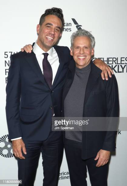 Actors Bobby Cannavale and Josh Pais attend the Motherless Brooklyn premiere during the 57th New York Film Festival on October 11 2019 in New York...
