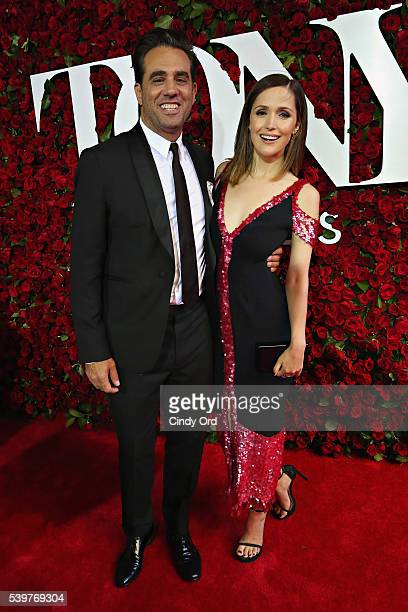 Actors Bobby Cannavale and Rose Byrne attend the 70th Annual Tony Awards at The Beacon Theatre on June 12 2016 in New York City