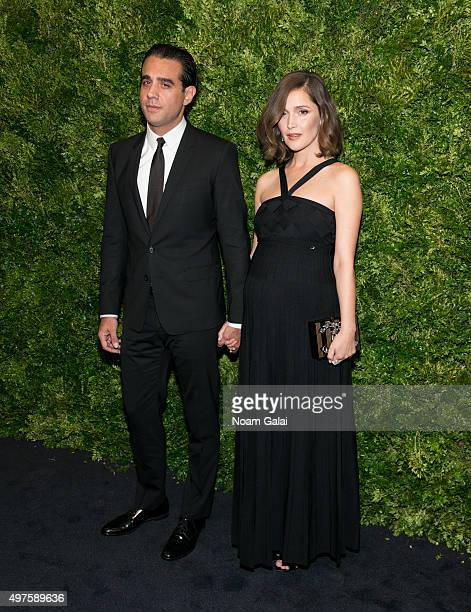 Actors Bobby Cannavale and Rose Byrne attend the 8th Annual Museum Of Modern Art Film Benefit honoring Cate Blanchett at Museum of Modern Art on...
