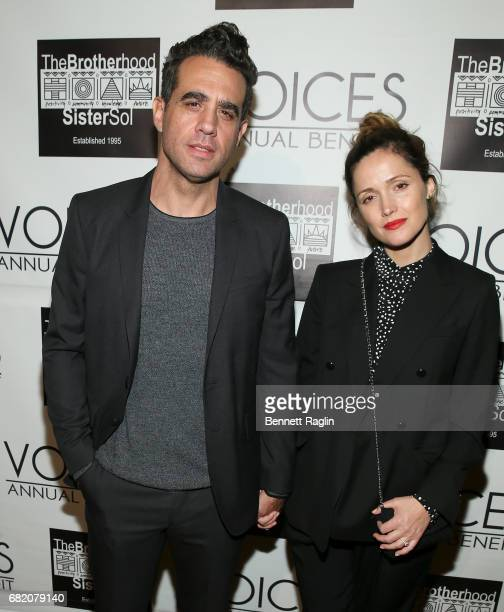 Actors Bobby Cannavale and Rose Byrne attends the Brotherhood/Sister Sol 2017 Gala at Gotham Hall on May 11 2017 in New York City