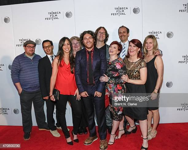 Actors Bobby Moynihan, Gil Ozeri, Catherine Reitman, Marceline Hugot, Adam Pally, directors Don Argott, Sheena M. Joyce, actors Peter Grosz, Kate...