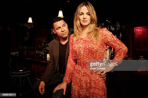 Actors Bojana Novakovic Jon Huertas are photographed for Los Angeles Times on January 29 2014 in Hollywood California PUBLISHED IMAGE CREDIT MUST...