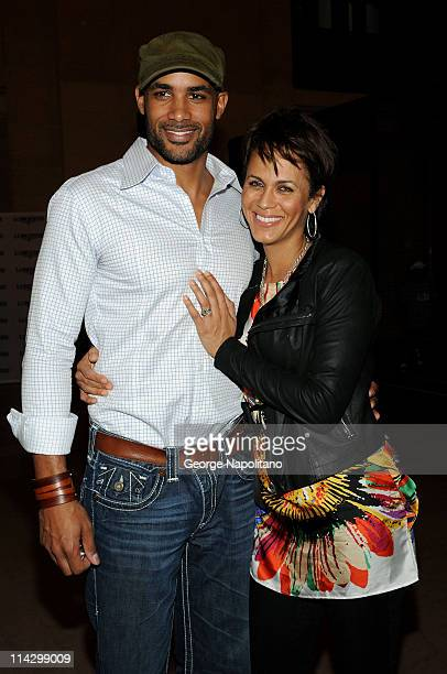 Actors Boris Kodjoe and Nicole Ari Parker attend Longines Center Court for Kids at Grand Central Terminal on September 10 2009 in New York City