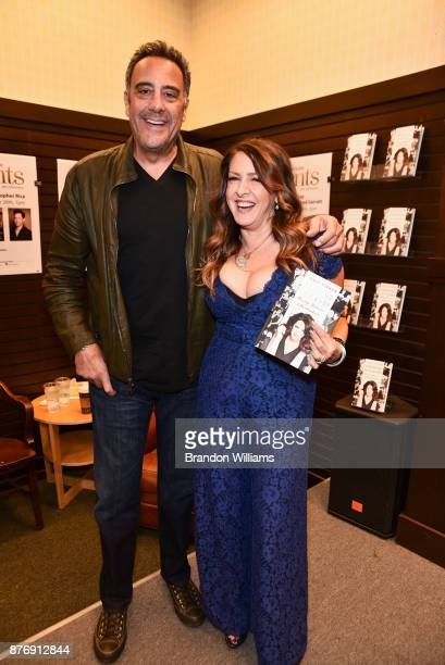 Actors Brad Garrett and Joely Fisher attend the book signing for Joely Fisher's book 'Growing Up Fisher' at Barnes Noble at The Grove on November 20...