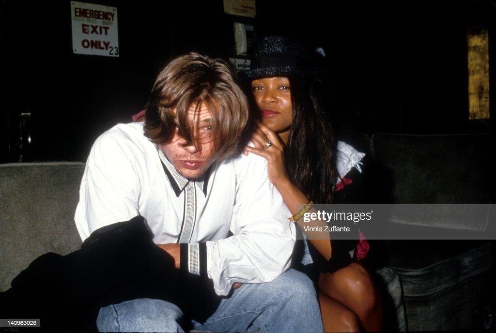 Brad And Robin : News Photo