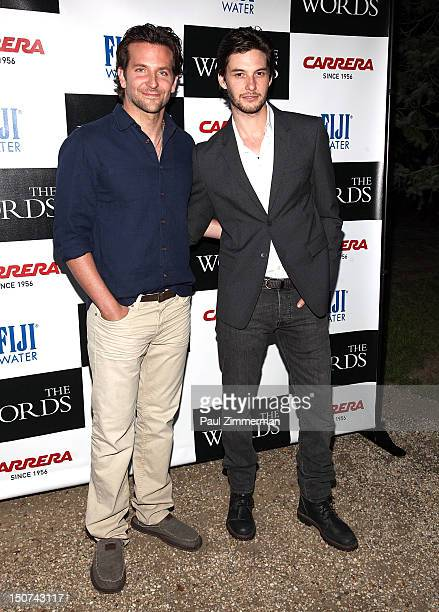 Actors Bradley Cooper and Ben Barnes attends 'The Words' screening at Goose Creek on August 25 2012 in East Hampton New York
