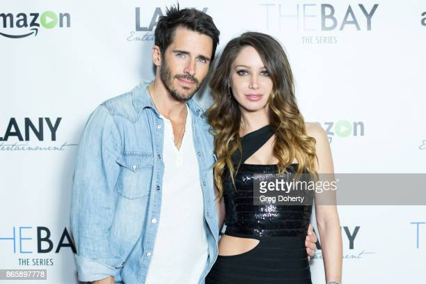 Actors Brandon Beemer and Kristos Andrews attend the Cast Premiere Screening Of Lany Entertainment's 'The Bay' Season 3 at TCL Chinese Theatre on...