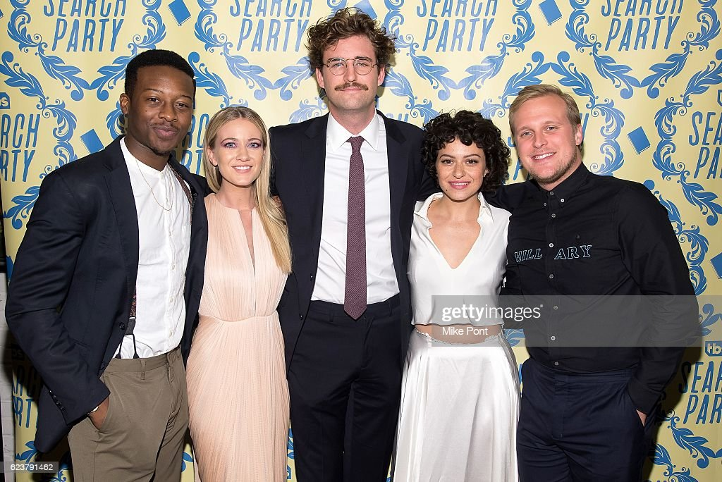 """""""Search Party"""" Premiere Party : News Photo"""