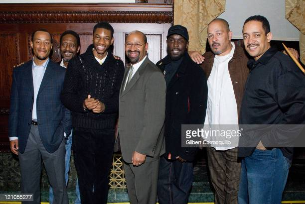 Actors Brandon Young Clarke Peters Jermaine Crawford Mayor Michael A Nutter Michael K Williams Director/Actor Clark Johnson Christopher Mann attend...