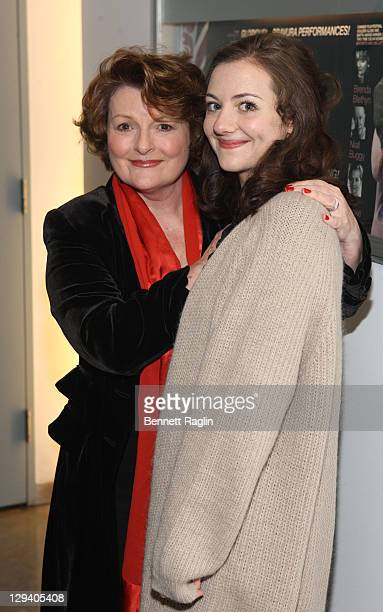 Actors Brenda Blethyn and Beth Cooke attend the opening night of Haunted at 59E59 Theaters on December 8 2010 in New York City