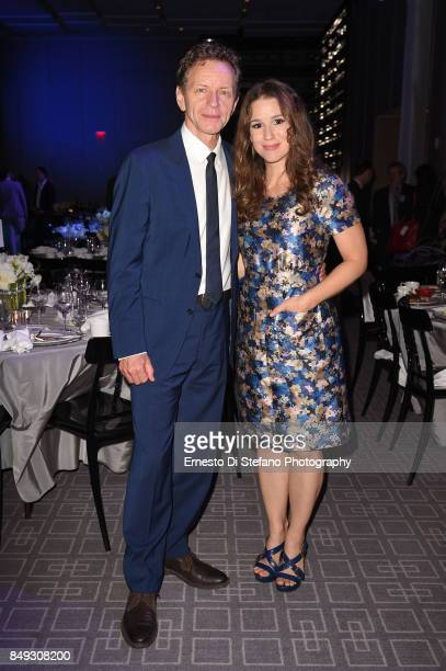 Actors Brent Carver and Chilina Kennedy attend the Stratford Festival Gala 2017 at Four Seasons Hotel on September 18 2017 in Toronto Canada