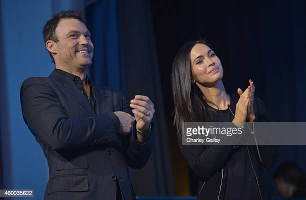 Actors Brian Austin Green and Megan Fox attend the 6th Annual Night of Generosity Gala presented by generosityorg at the Beverly Wilshire Four...