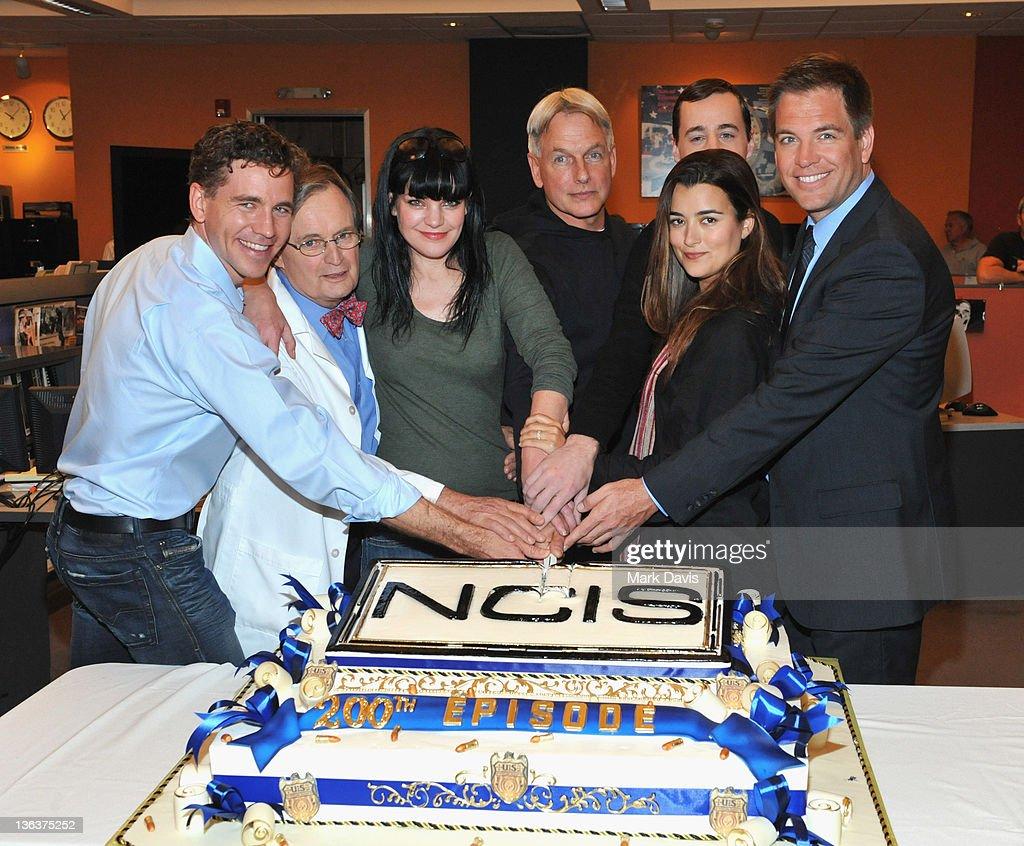 """CBS' """"NCIS"""" Celebrates Their 200th Episode : Nachrichtenfoto"""