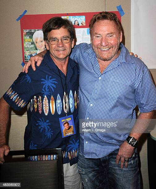 Actors Brian Forster and Danny Bonaduce on day 1 of The Hollywood Show held at The Westin Hotel LAX on August 1 2015 in Los Angeles California